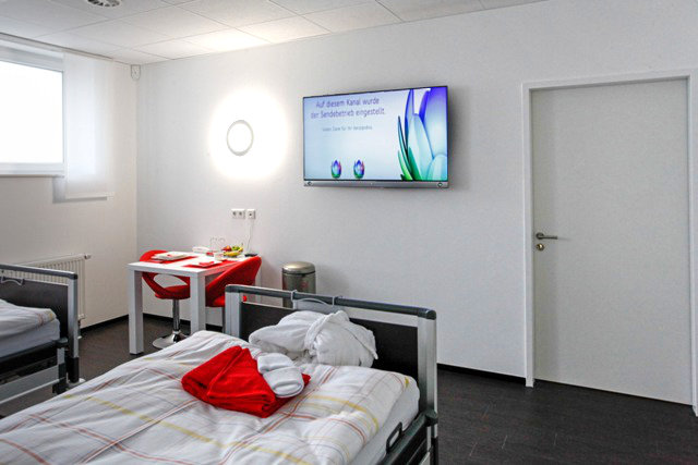 OPZ Patientenzimmer