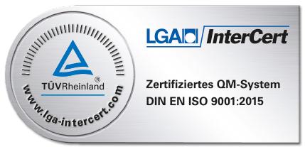 TÜV Zertifikat lga_007_20151112