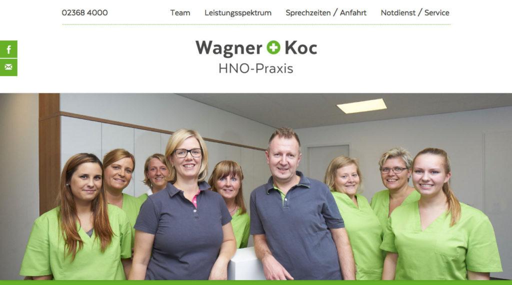 HNO-Praxis Wagner + Koc